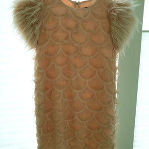Imoga Girls Dress Size 14 in Dusty Pink